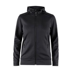 Noble Full Zip Hood Women - Black  - Size: 1904575 - Color: musta
