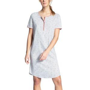 Calida Sweet Dreams Sleepshirt - White Pattern-2  - Size: 30385 - Color: Valk. kuviolli