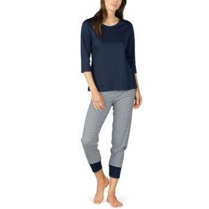 Mey Night2Day Paula Crop Pyjama - Midnightblue * Kampanja *  - Size: 13951 - Color: keskiyönsin.