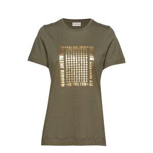 By Malene Birger Manja T-shirts & Tops Short-sleeved Vihreä By Malene Birger