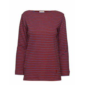 By Malene Birger Tsh5025s91 T-shirts & Tops Long-sleeved Punainen By Malene Birger