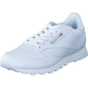 Reebok Classic Classic Leather White-1, Kengät, Tennarit ja Urheilukengät, Sneakerit, Valkoinen, Lapset, 38
