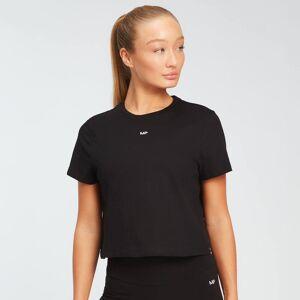 MP Women's Essentials Crop T-Shirt -T-paita - Musta - S