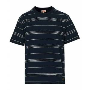 Armor-lux Heritage Barnaby T-Shirt Navy/Milk