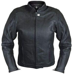 Bores Caroline Ladies Leather Jacket Waterproof Naisten nahkatakkiMusta