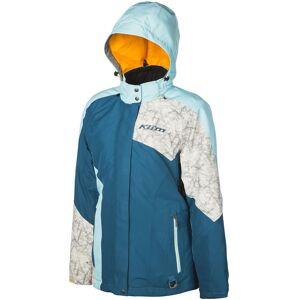 Klim Allure Ladies Snowmobile Jacket Naisten moottorikelkkatakkiSininen