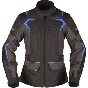 Modeka Elaya Naisten moottoripyörä tekstiili takki  - Musta Harmaa - Size: XL 44