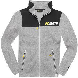 FC-Moto Faster-FJ Fleecetakki  - Musta Harmaa - Size: L