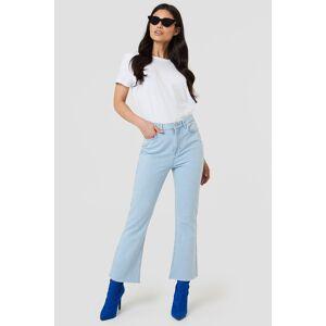 promo code 290ec 40b8f NA-KD Kick Flare Jeans - Blue