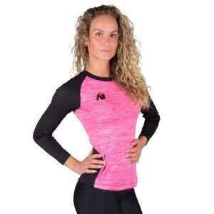 Gorilla Wear Mineola Longsleeve Black/pink