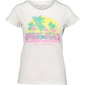 Reaction So Printed Tee W Topit BRIGHT WHITE  - BRIGHT WHITE - Size: Extra Small