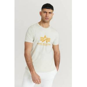 Alpha Industries T-Shirt Basic T-Shirt Hvit  Male Hvit