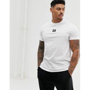 Armani Exchange back logo t-shirt in white - White