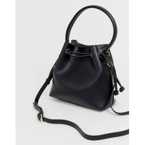 Melie Bianco faux leather mini tote bag - Black