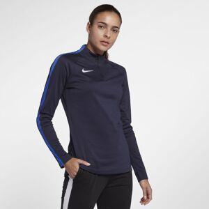 Nike Dri-FIT Academy Drill langermet fotballoverdel til dame - Blue