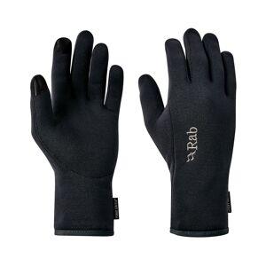 Rab Power Stretch Contact Glove - Hansker - Black - S