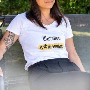 smartphoto T-skjorte dame fuksia S