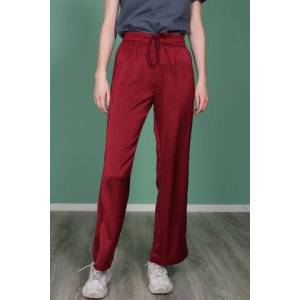 Second Female Yva Trousers - Cabernet