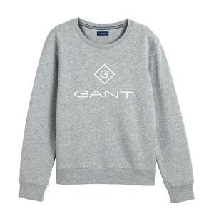 Gant Lock Up C-neck Sweat - Grey Melange