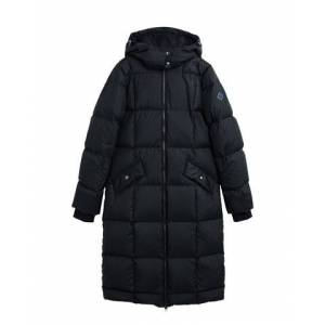 GANT Long Down Coat - Black