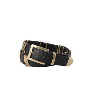 Cala Jade Rattle Belt - Black Gold