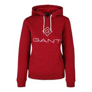 Gant Lock Up Sweat Hoodie - Mahogny Red