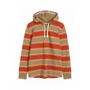GANT Hooded Heavy Rugger - Warm Khaki