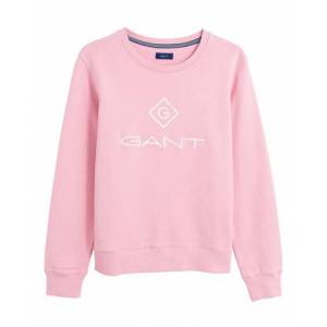 Gant Lock Up C-neck Sweat - Summer Rose
