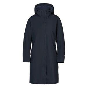 Scandinavian Edition Woman Flow Coat - Navy