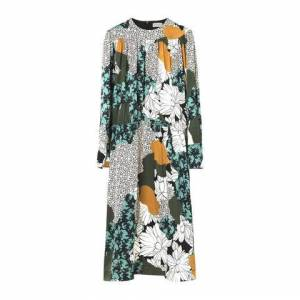 2nd Hand Villoid By Malene Birger Niella Dress - Misty Green 38
