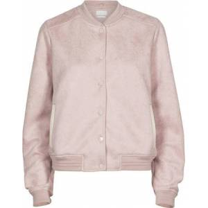 2nd Hand Villoid Creative Collective Suede Bomber - Dusty Pink S