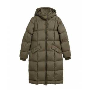 GANT Long Down Coat - Sea Turtle