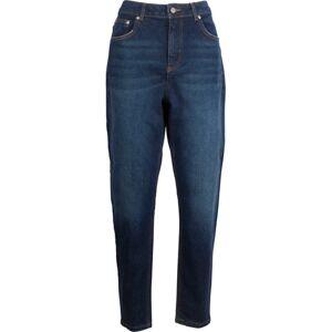 NA-KD Mom Jeans - Dark Blue