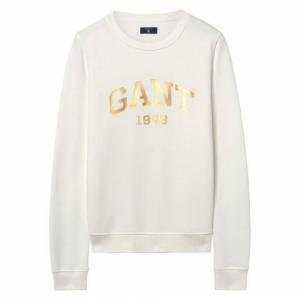 GANT Gift Giving Logo Sweat - Eggshell