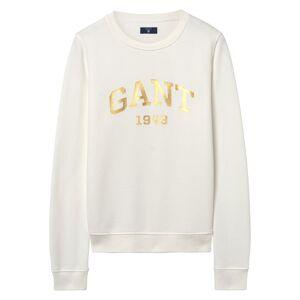 GANT Gift Giving Logo Sweat - Eggshell