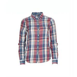 GANT Winter Flannel Madras Shirt - Smoked Paprika