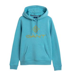 GANT Color Lock Up Hoodie - Seafoam Blue