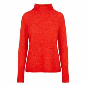 2nd Hand Villoid Second Female Brook Knit New T-neck - Poinciana XS