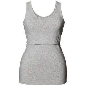 Boob Nursing Singlet - Light grey