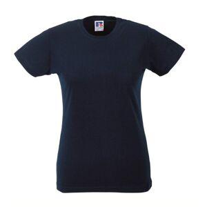 Russell Athletic Ladies Slim Fit T - Navy-2