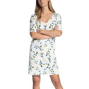 Calida Favourites Trend Loungedress - White Pattern-2 * Kampanje *