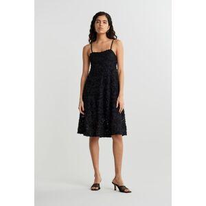 Gina Tricot Emilia dress XXL Female Black (9000)