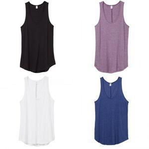 Alternative Apparel Alternative klær Backstage Tank Hvit XL