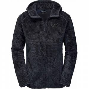 Jack Wolfskin kvinners furu kjegle-jakke - ibenholt striper