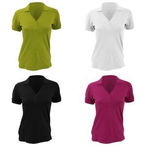 Kustom Kit Kustom orientert Kit damer Sophia Comfortec® v kort ermet Polo skjorte Lime 10