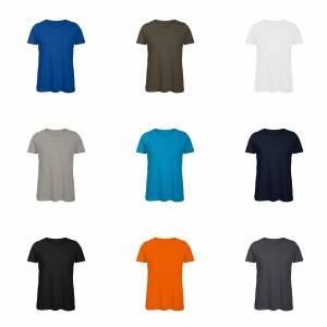 B&C B & C kvinners/damer favoritt økologisk bomull mannskapet t-skjorte Oransje M