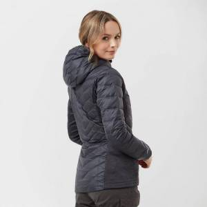 Berghaus New Berghaus Women's Finsler Down Windproof Jacket Dark Grey 12