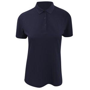 Kustom Kit Kustom orientert Kit kvinners/damer Slim Fit kort ermet Polo skjorte Marineblå 6