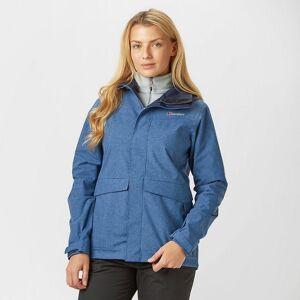 Berghaus New Berghaus Women's Dalemaster Waterproof Jacket Navy 14