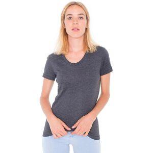 American Apparel Womens/Ladies Polycotton Short Sleeve T-Shirt Red M